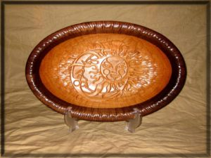Carved Bowls & Plates