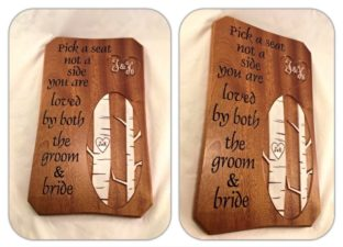 Wedding Sign & Plaque